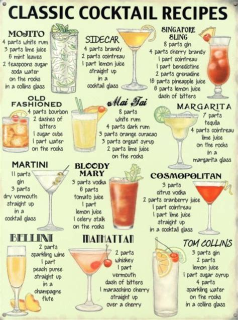 cocktail recipes best 25 simple cocktail recipes ideas on