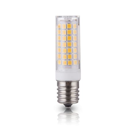 Lu Led Hannochs Basic 7w 7 Watt lumenbasic e17 led bulb 7w e17 intermediate base 45w halogen equivalent jd t4 bulbs ac 110v 120v