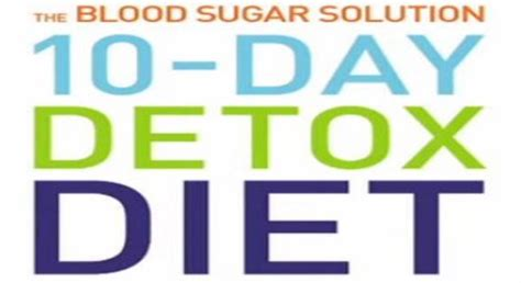 Hyman 10 Day Detox Diet Reviews by Archives Cloudnews
