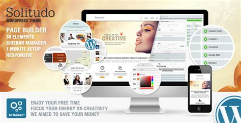 themes with page builder 250 best responsive wordpress themes 56pixels com