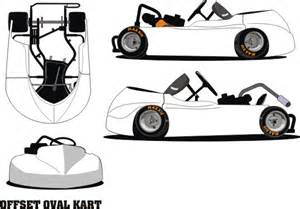 go kart template graphics and decals for racing go karts oval flat karts