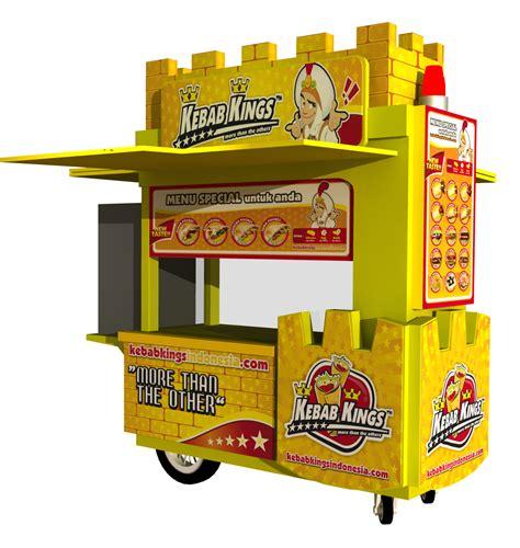 design gerobak usaha bikin gerobak booth murah dengan kualitas bagus