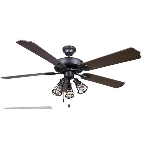 multi fan ceiling fan otto 52 in indoor graphite ceiling fan cf52ot25gph the