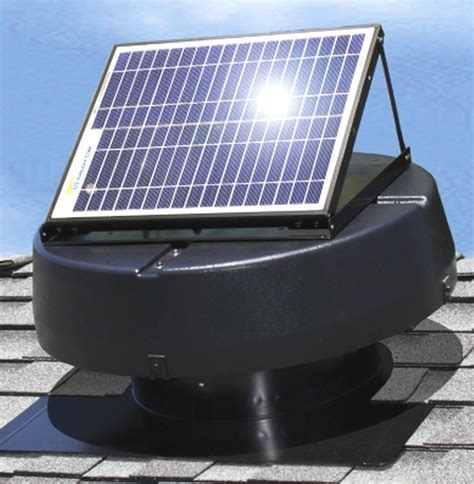 solar powered exhaust fan new solar powered attic fan ventilator roof air vent roof