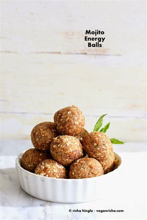 modern vegan baking the ultimate resource for sweet and savory baked goods books mojito energy balls vegan glutenfree recipe vegan richa