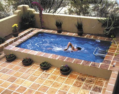 small lap pools pinterest