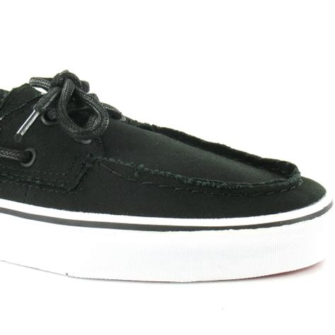 vans zapato barco mens canvas 2 eyelet deck shoes
