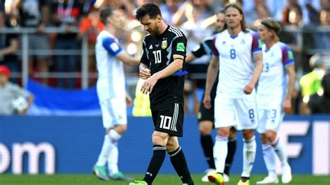 argentina vs iceland catch up relive iceland s world cup debut against two