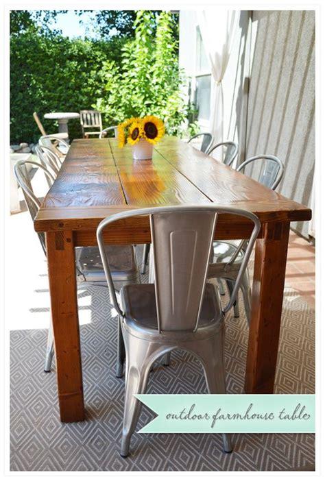 painted esszimmertisch die besten 25 outdoor farmhouse table ideen auf