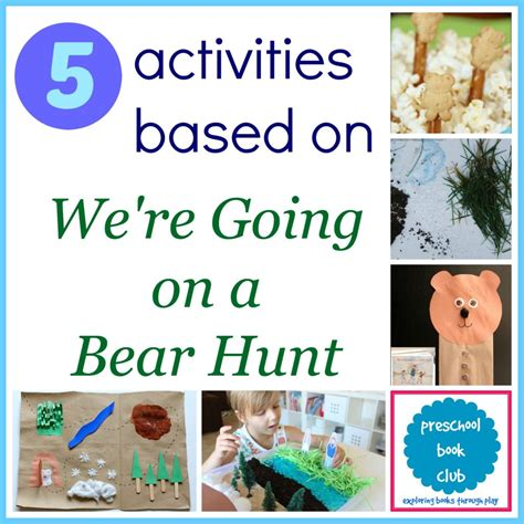 were going on a we re going on a bear hunt activities homegrown friends