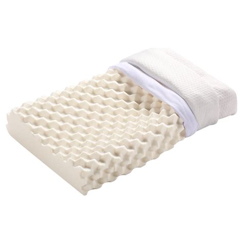egg crate for bed natural egg crate latex bed pillow hypoallergenic 100 ventilated removable cover ebay