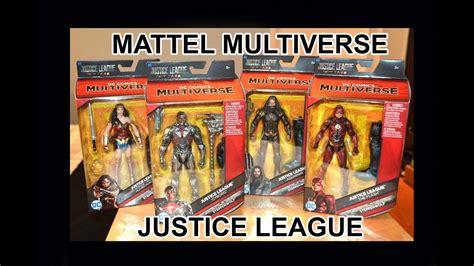 Mattel Dc Justice League Aquaman mattel dc multiverse justice league figures cyborg aquaman flash unboxing