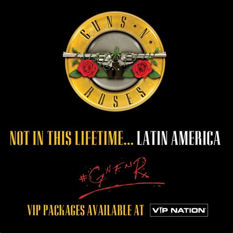 Guns N' Roses > News > South America VIP Packages Available