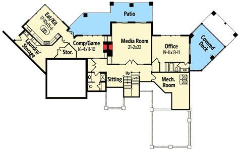 high end home plans high end drama with bonus 26600gg architectural