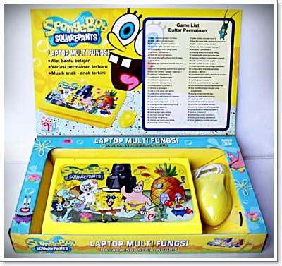 Mainan Laptop 2 Bahasa Ingris Indonesia laptop hello kity mainan edukasi anak multifungsi 207 barang unik china barang
