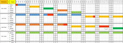 resource schedule template excel resource planner calendar template 2016
