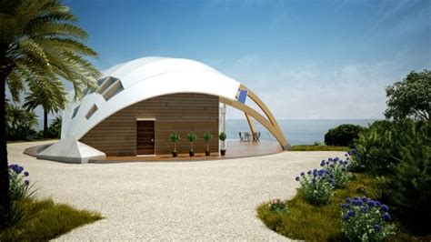 creative homes the pearl dome house passive solar design with a touch