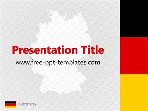 powerpoint layout germany germany ppt template