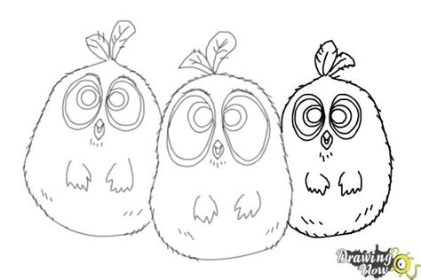 angry birds movie coloring pages how to draw the blues from the angry birds movie drawingnow