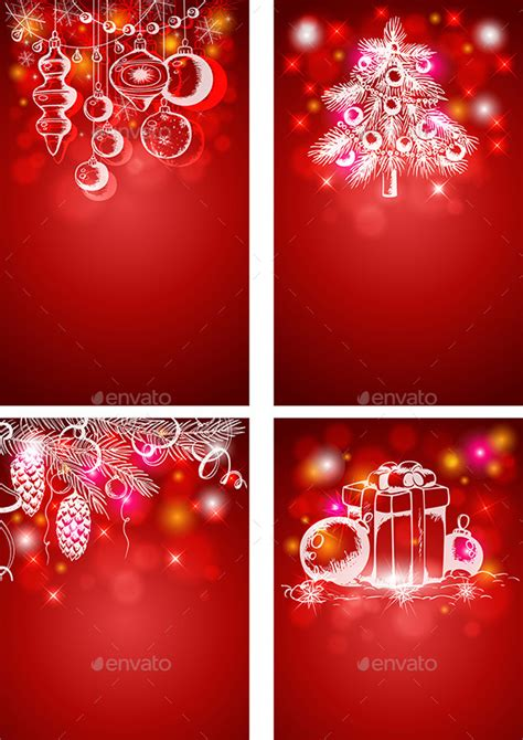 christmas wallpaper vertical red christmas vertical backgrounds by artness graphicriver