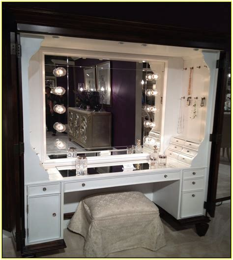 Vanity Table With Mirror And Lights by Dressing Table With Lights Around Mirror 9740