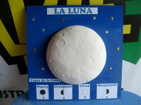 ejemplos de maqueta para las fases lunares ejemplo de maqueta de fases de la luna maquetas escolares