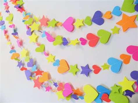 Country Kitchen Curtain Ideas by 1st 2nd 3rd Birthday Decorations Paper Heart And Stars