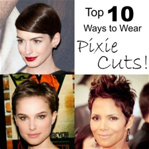 the haircut ways to wear it top 10 ways to wear pixie cuts salon head candy