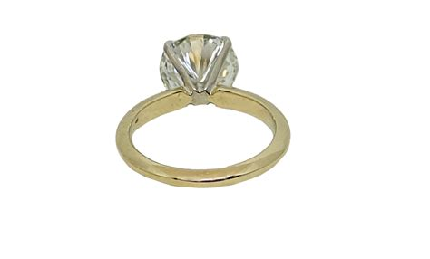 14k yellow gold solitaire engagement ring world s best