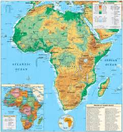 africa map geography map of africa geography deboomfotografie
