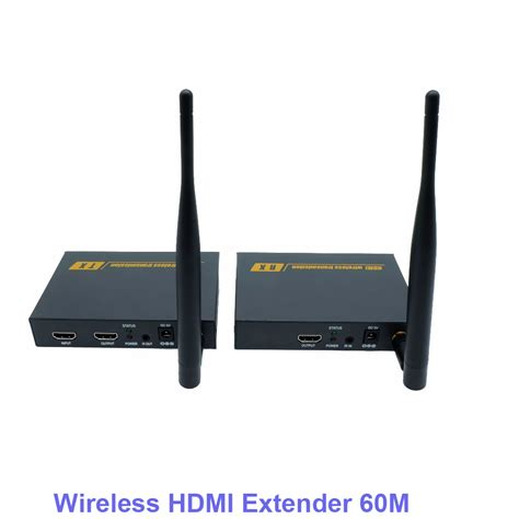 3 Wifi Cellular 60m hd 1080p hdmi 1 3 wireless hdmi extender for hdtv 3d wifi hdmi sender transmitter receiver