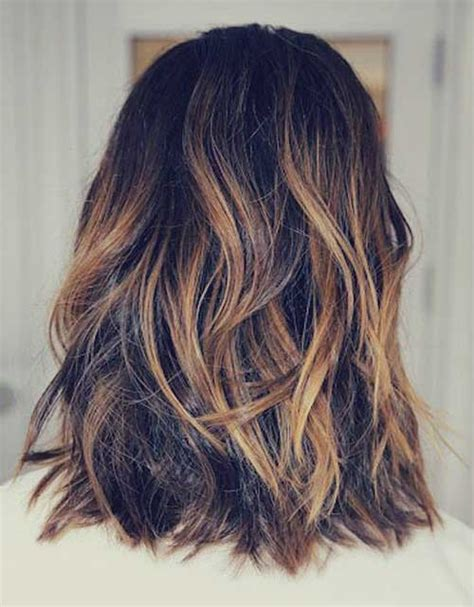 brownn shoulder length hairstyle 25 best long bob hair short hairstyles 2017 2018