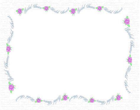 Wedding Border Clipart Free by Wedding Shower Borders Free Clipart