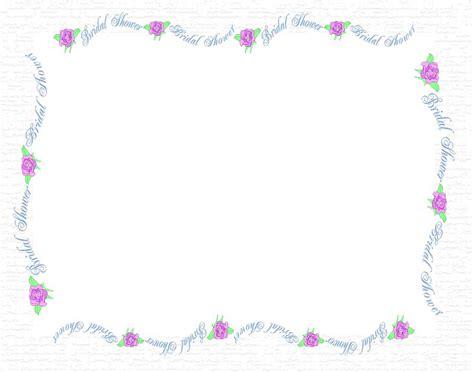 Wedding Invitation Border Graphics by Wedding Shower Borders Free Clipart