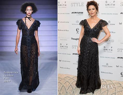 Catwalk To Carpet Catherine Zeta Jones by Catherine Zeta Jones In Temperley Luxury