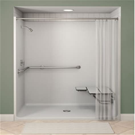 Walk In Shower Ideas For Small Bathrooms call 336 653 5068 email info safelivingsolutionsllc com