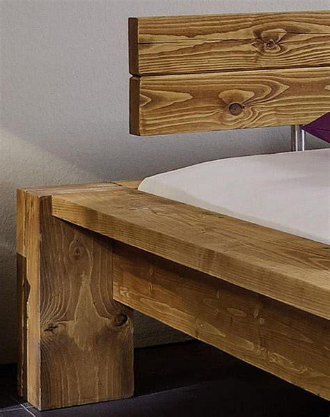 kopfteil bett antik balkenbett 140x200 mit kopfteil 2 nordisches massivholz