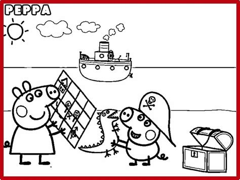 imagenes para pintar de peppa pig pintar peppa pig y colorear dibujos de peppa pig