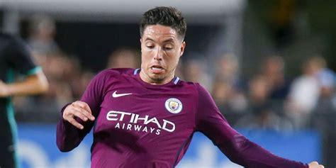 Tshirtt Shirtkaosoblongsablon Bola Klub Manchester City tinggalkan city samir nasri gabung klub turki bola net