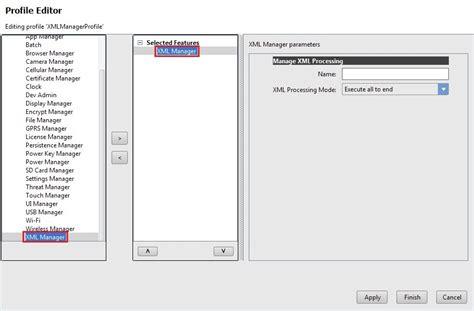 tutorial xml for android manage mx processing behavior zebra technologies techdocs