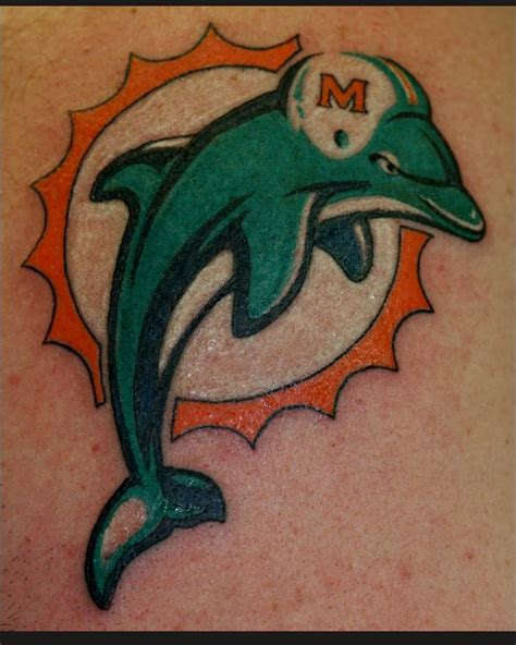 13 best images about miami dolphins tattoos on pinterest