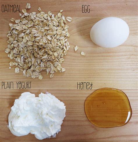 oatmeal diy mask diy oatmeal mask modern ensemble