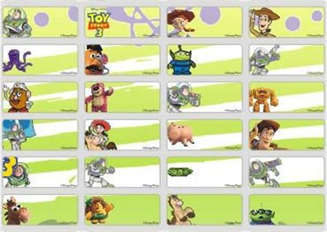 Mainan Anak Story 4 Buzz Lightyear Light Year Robot Jalan jual story sticker name label small stiker karakter