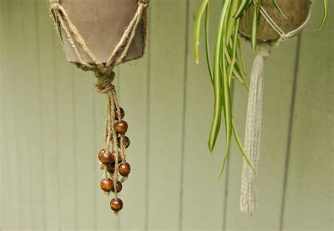 Diy Plant Hangers - diy macrame plant hangers