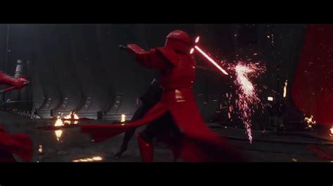 star wars the last 1368008372 the last jedi throne room scene rey and kylo ren vs pretorian guards hd 1080p 2018 star