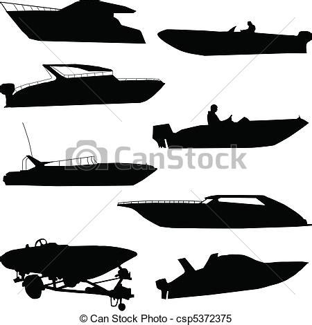 speed boat tattoo clipart vector of various speedboats csp5372375 search