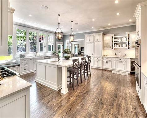 kitchen island house beautiful pinterest 25 best ideas about white farmhouse kitchens on pinterest