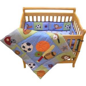 Crib Bedding Sports Bedtime Originals Sports Mini Crib Bedding 3 Set Walmart