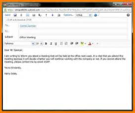 8 how to write an official email daily task tracker