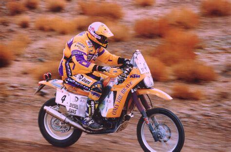 Ktm Motorrad Dakar by Past Present Heinz Kinigadner On The Dakarktm Blog